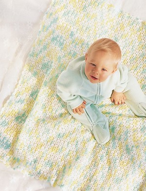 Soft Colors Baby Afghan