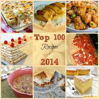 Top 100 Recipes of 2014