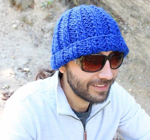True Blue Men s Beanie  c48461265f95