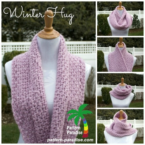 Winter Hug Infinity Scarf