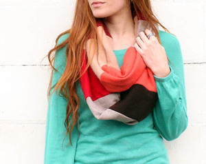 Thrifty Refashioned Infinity Scarf
