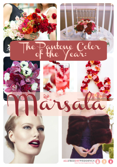 Pantone Color of the Year 2015: Marsala!