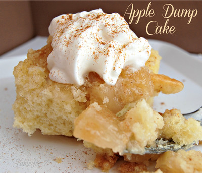 Just-Like-Moms Apple Dump Cake