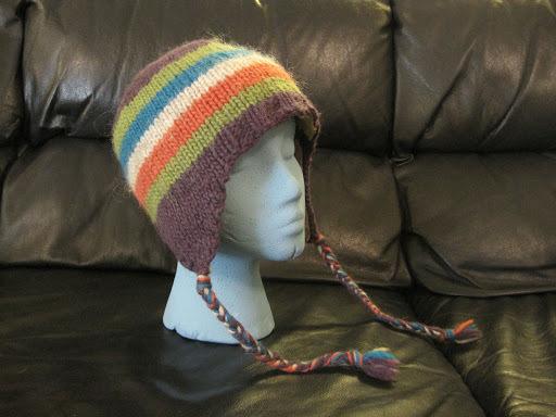 Loom Knit Baby Hat With Ear Flaps : Classic ear flap hat allfreeknitting