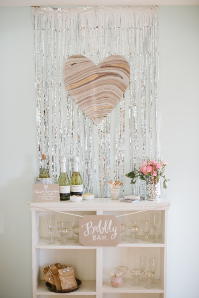 Sparkle and Shine Heart Backdrop
