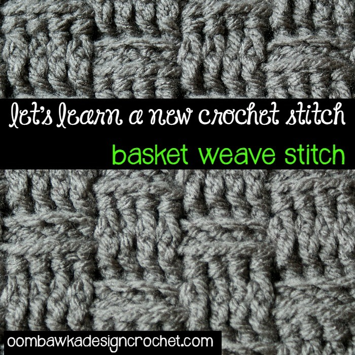 Free Crochet Pattern For Basket Weave Stitch : How to Crochet the Basketweave Stitch AllFreeCrochet.com