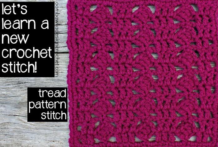 Unique Crochet Tread Stitch Allfreecrochet Com