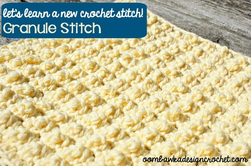 Bumpy Textured Granule Stitch
