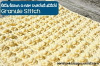 22 Basic Crochet Stitches