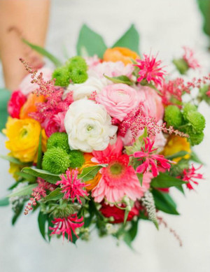Sensational Summer Wedding Flowers Bouquet