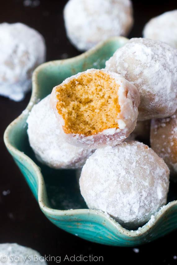 Mini Powdered Sugar Donut Holes Recipelion Com