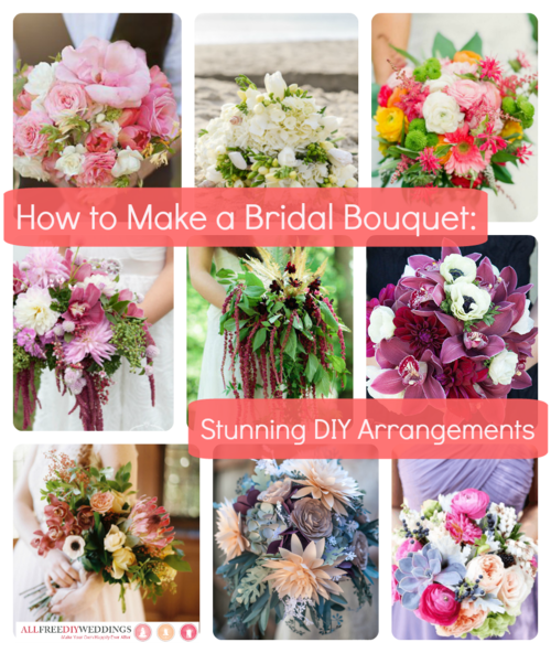 Wedding Centerpieces That Won T Cost You The World Versus: How To Make A Bridal Bouquet: 35 Stunning Arrangements