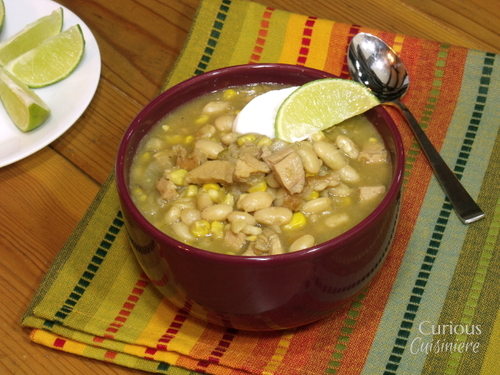 Leftover Turkey White Chili