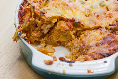 Family Favorite Easy Enchilada Casserole