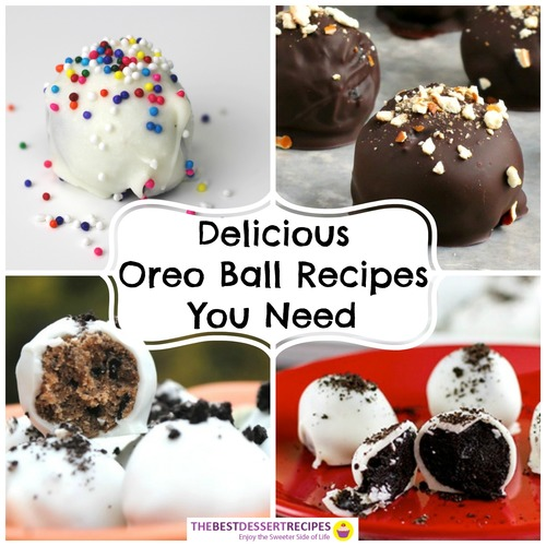 Oreo Balls Recipes
