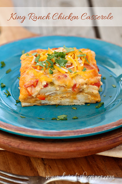 Texas Chicken Ranch Casserole