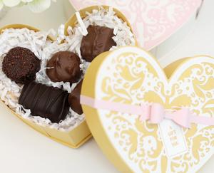 Easy, Breezy Handmade Box of Chocolates