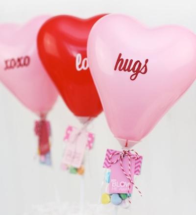 Too Cute Mini Balloon Valentines