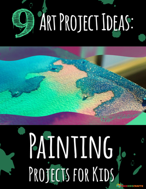 9 Art Projects Ideas: Painting Projects for Kids