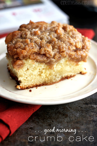 Good Morning Crumb Cake