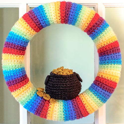 Pot of Gold Wreath