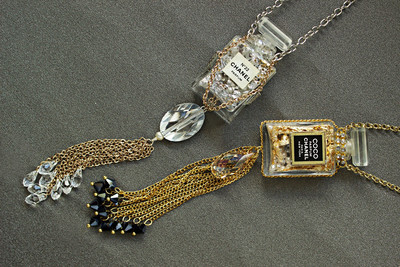 Chanel Potion Necklaces