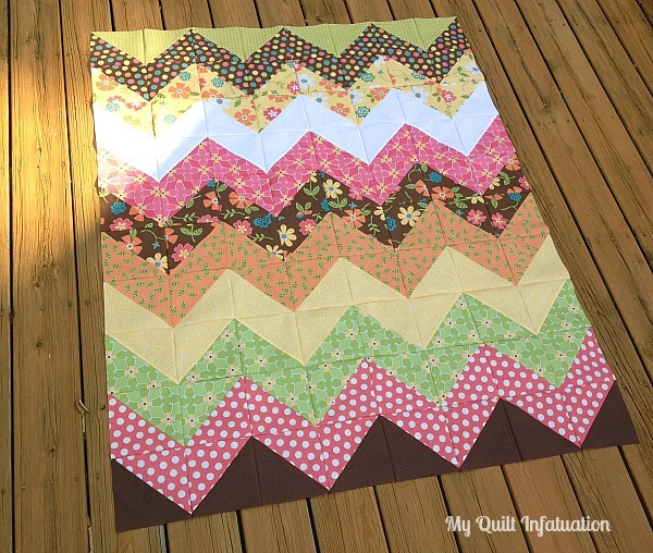 Epic image regarding free printable chevron quilt pattern