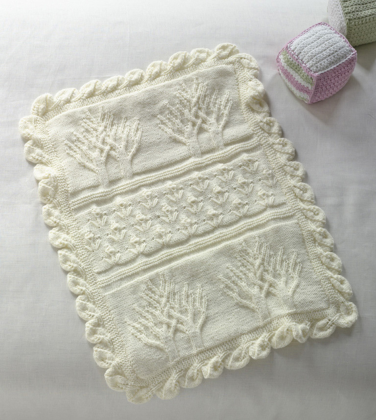 Tree Of Life Throw Allfreeknitting Com