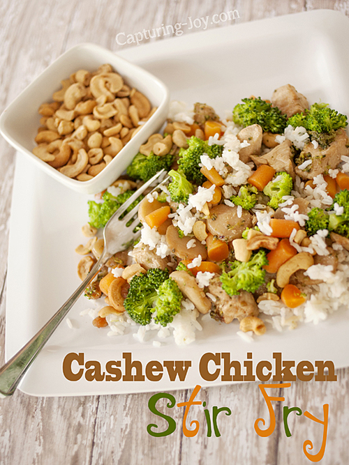 Cashew Chicken Dinner