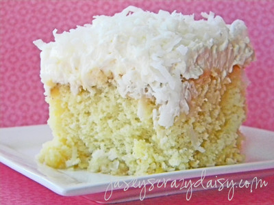 Super Moist Coconut Pineapple Cake