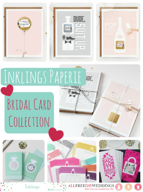 Inkling Paperie's Bridal Card Collection