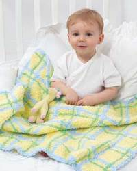 Plaid Blanket for Babies