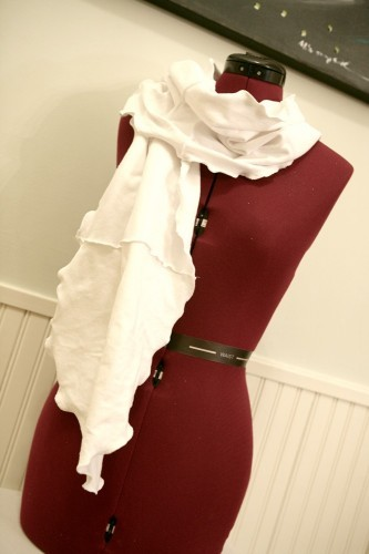 Casual T Shirt Scarf