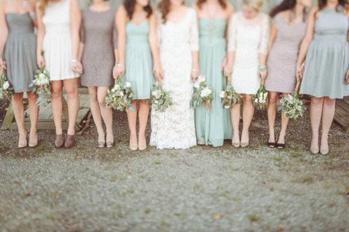 Sophisticated Sage Vintage Wedding