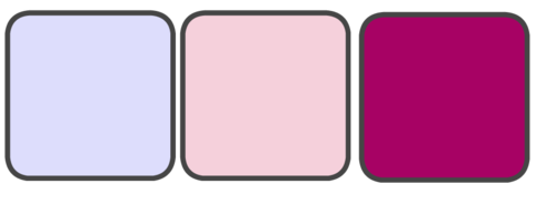 Lavender, Blush Pink, Berry