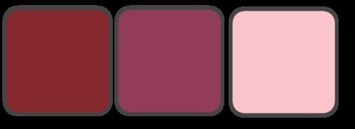 Marsala, Berry, Blush