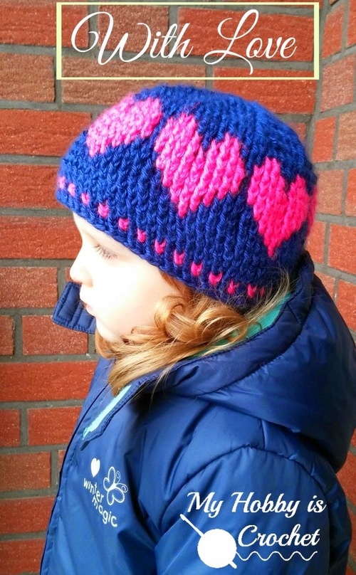 Childrens Hat With Love
