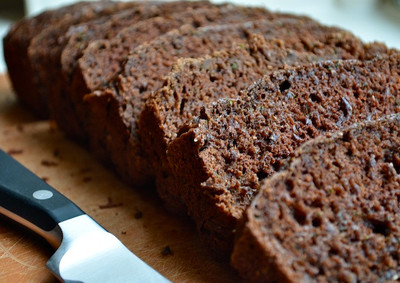 Incredibly Easy Chocolate Zucchini Bread