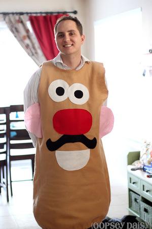 DIY Mr. Potato Head Costume