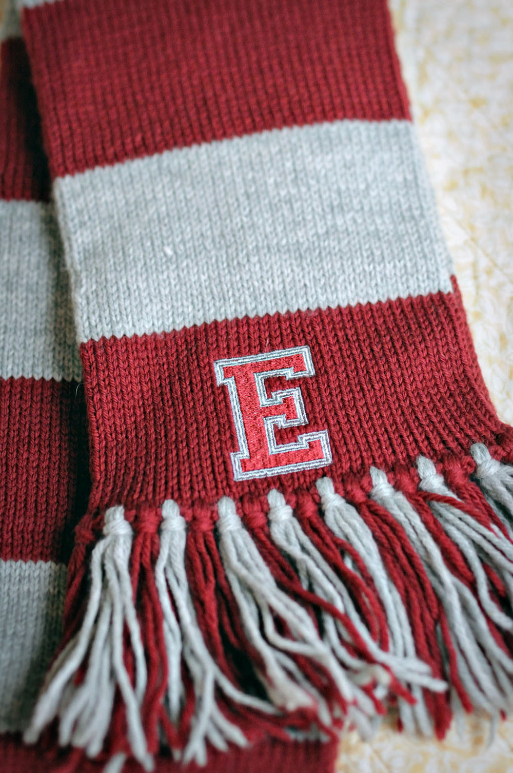 his favorite collegiate scarf allfreeholidaycrafts