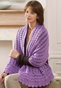 Pocket Prayer Shawl Allfreecrochet Com