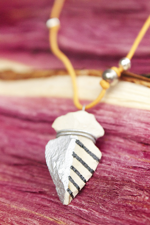 Easy Arrowhead Necklace