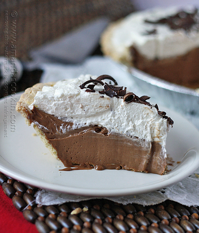 Copycat Bakers Square French Silk Pie