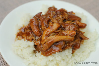 Simple Slow Cooker Teriyaki Chicken