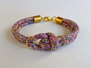 Chic Cord Knotted Bracelet