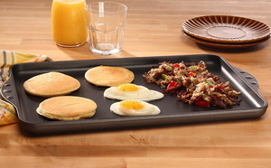 Swiss Diamond Double-Burner Griddle
