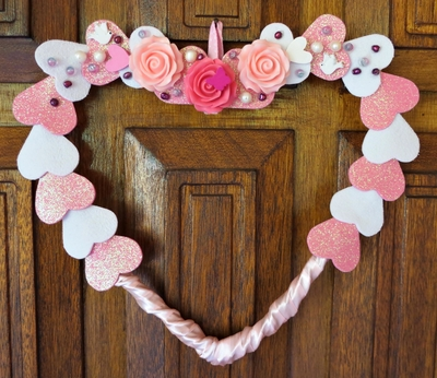 Sweetheart Valentine's Day Wreath