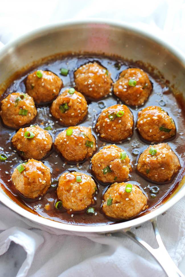 Asian Quinoa Meatballs Favehealthyrecipes Com