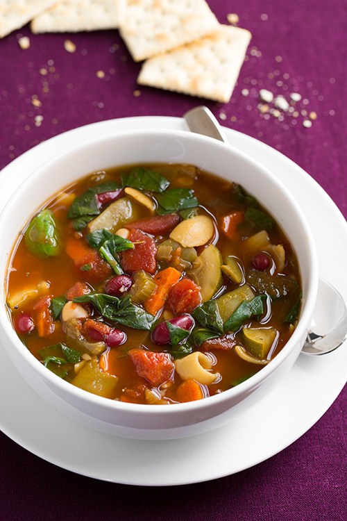 Slow Cooker Olive Garden Copycat Minestrone Soup
