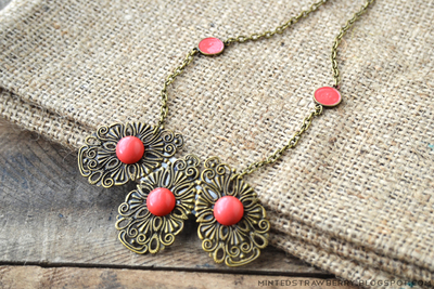 Luxurious Filigree Necklace